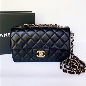 Chanel 19S Mini Rectangular Flap Bag